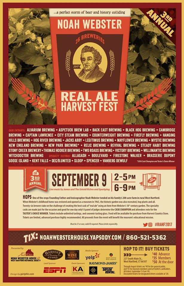 Noah Webster Real Ale Harvest Festival