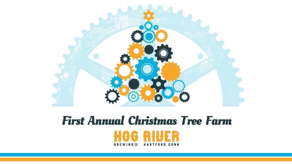 first annual christmas tree farm at hog river