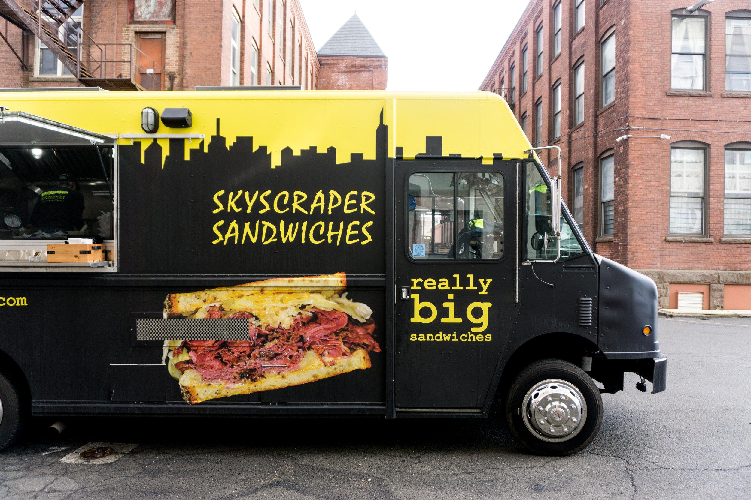 Skyscraper Sandwich Truck at Know Good Market
