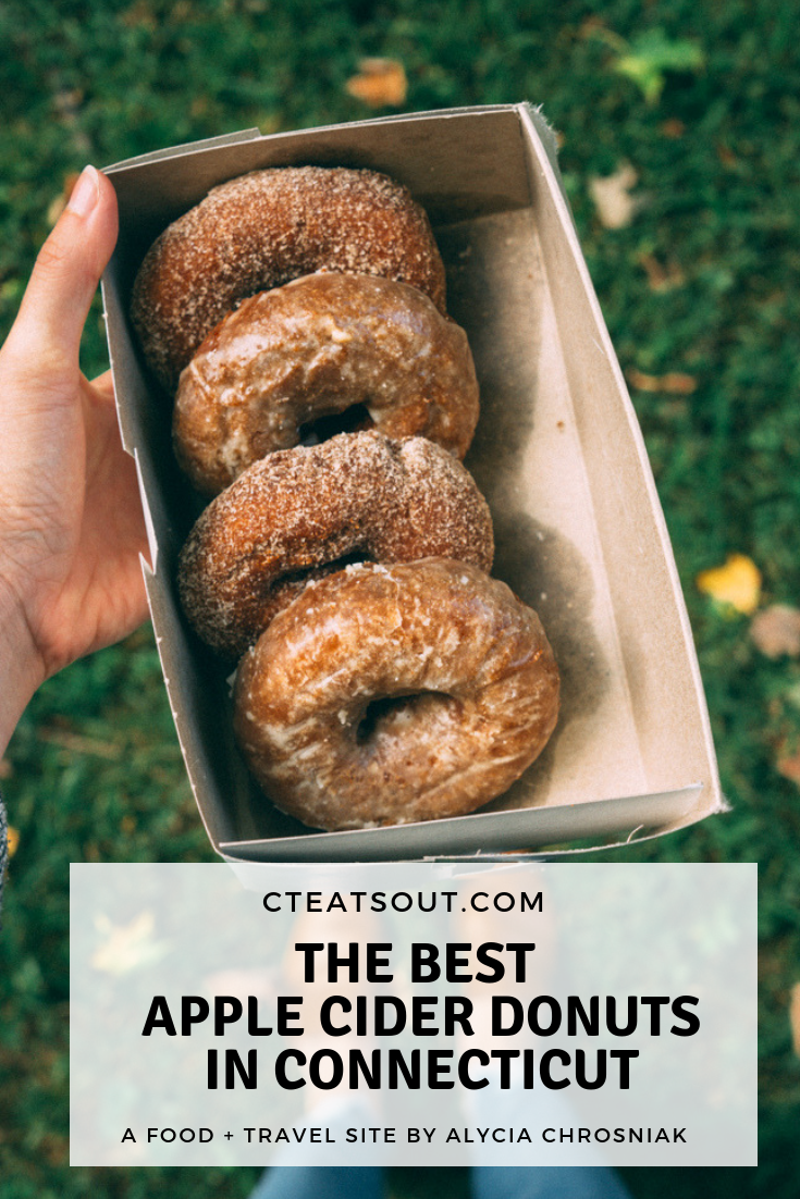 the best apple cider donuts in connecticut