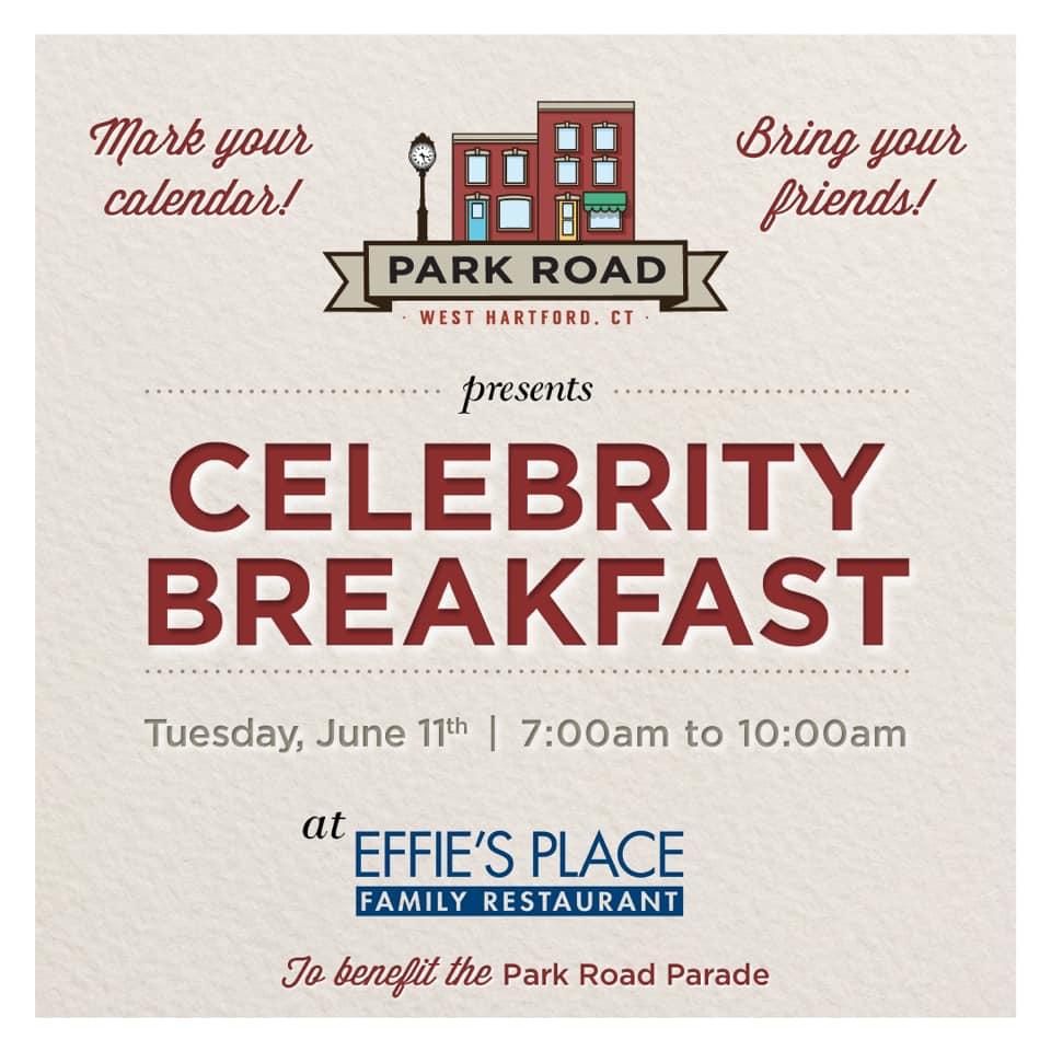 Effie's Restaurant Celebrity Breakfast