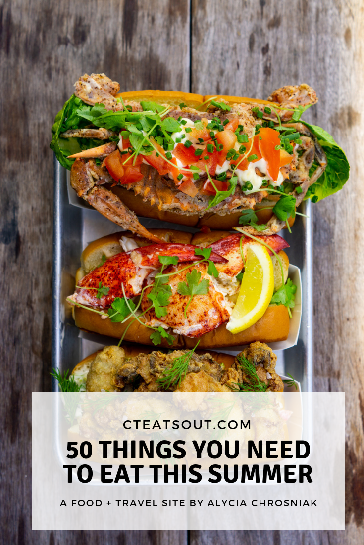 50 things to eat this summer