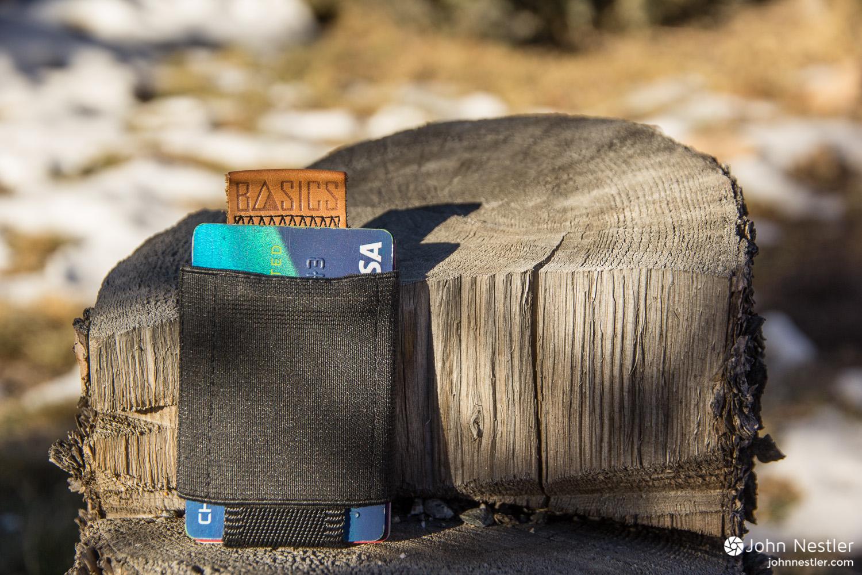 NOMATIC Black Slim Minimalist Wallet
