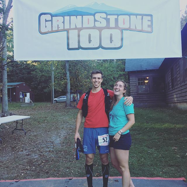 Set aside school & sleep for the weekend to experience Grindstone 100. I ended up taking a DNF at mile 96 due to ankle injuries, but learned so much about racing and myself in the process (including how little you remember while running at night). Also immensely grateful for my parents & Amelia who provided support & encouragement throughout the event.  #grindstone100 #ultrarunning #trailrunning #race