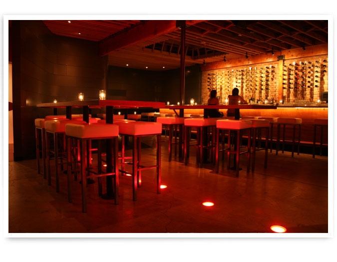 The scene at Bodega Wine Bar, Santa Monica.  Photo credit:http://www.mymodernmet.com