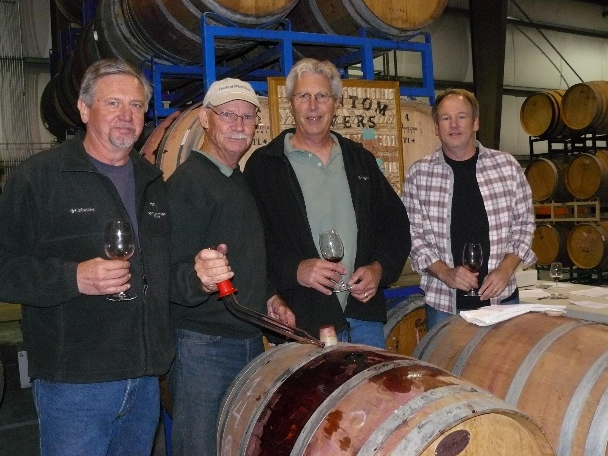 (L-R) Phantom Rivers Owners:Steve Mathis, John Thunen, Gary Smith, John Klacking