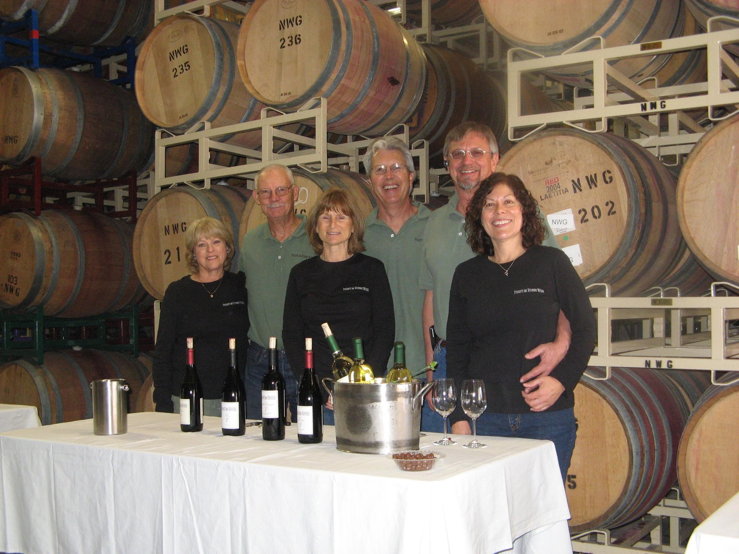 (L-R)John & Linda Thunen, Gary & Diana Smith, Steve & Sue Mathis