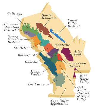 Napa Valley Map | VULT29