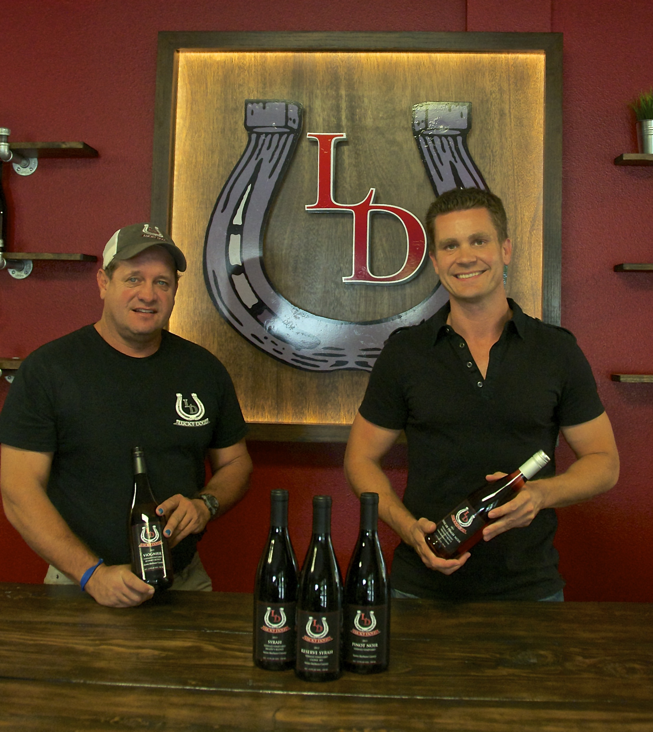Lucky Dogg Winery Founders | VAULT29