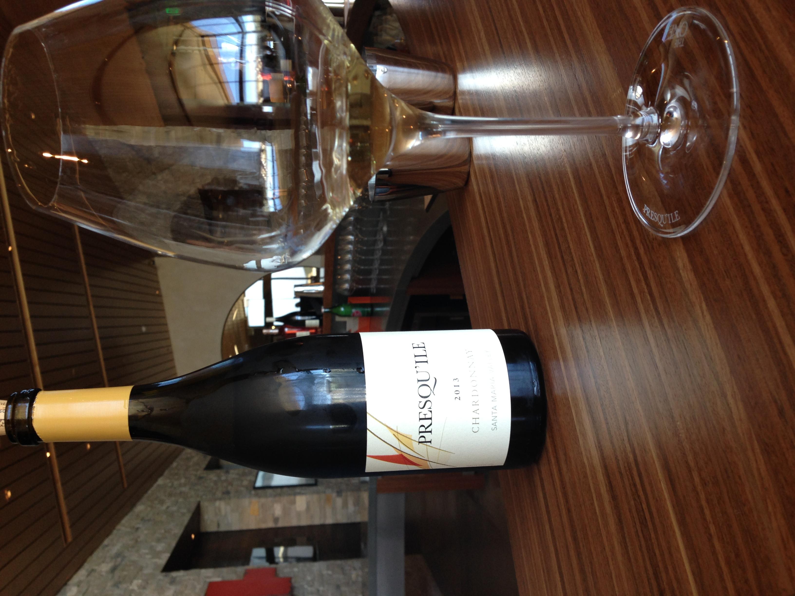 Presqu'ile Chardonnay 2012 | VAULT29