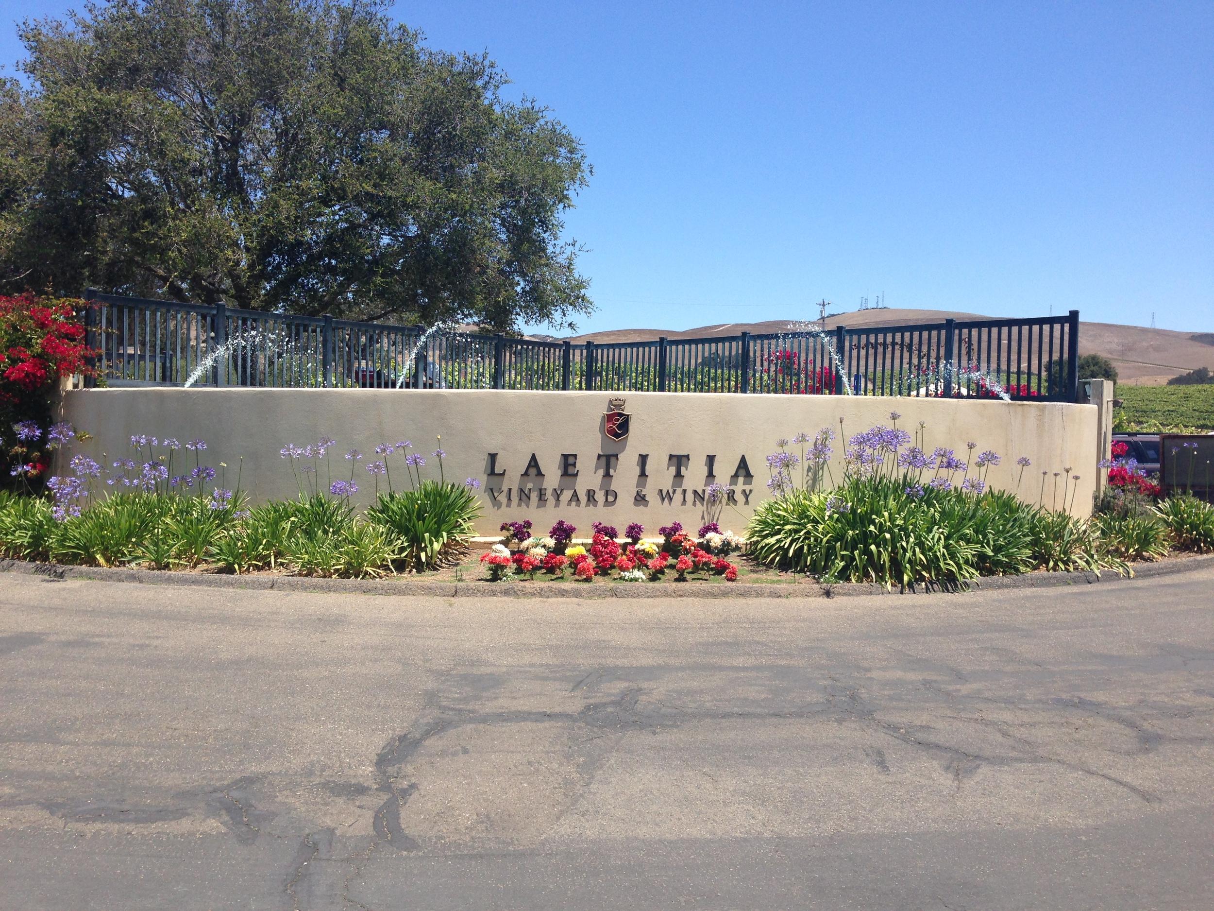 Laetitia Winery Sign | VAULT29