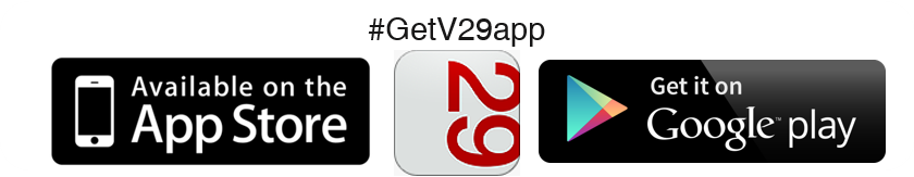 Download now on iTunes! #GetV29app