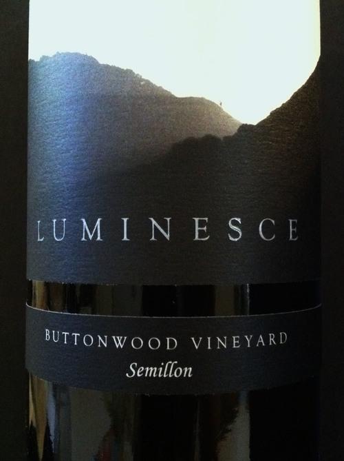 Luceant Luminesce Semillon Buttonwood Vineyard