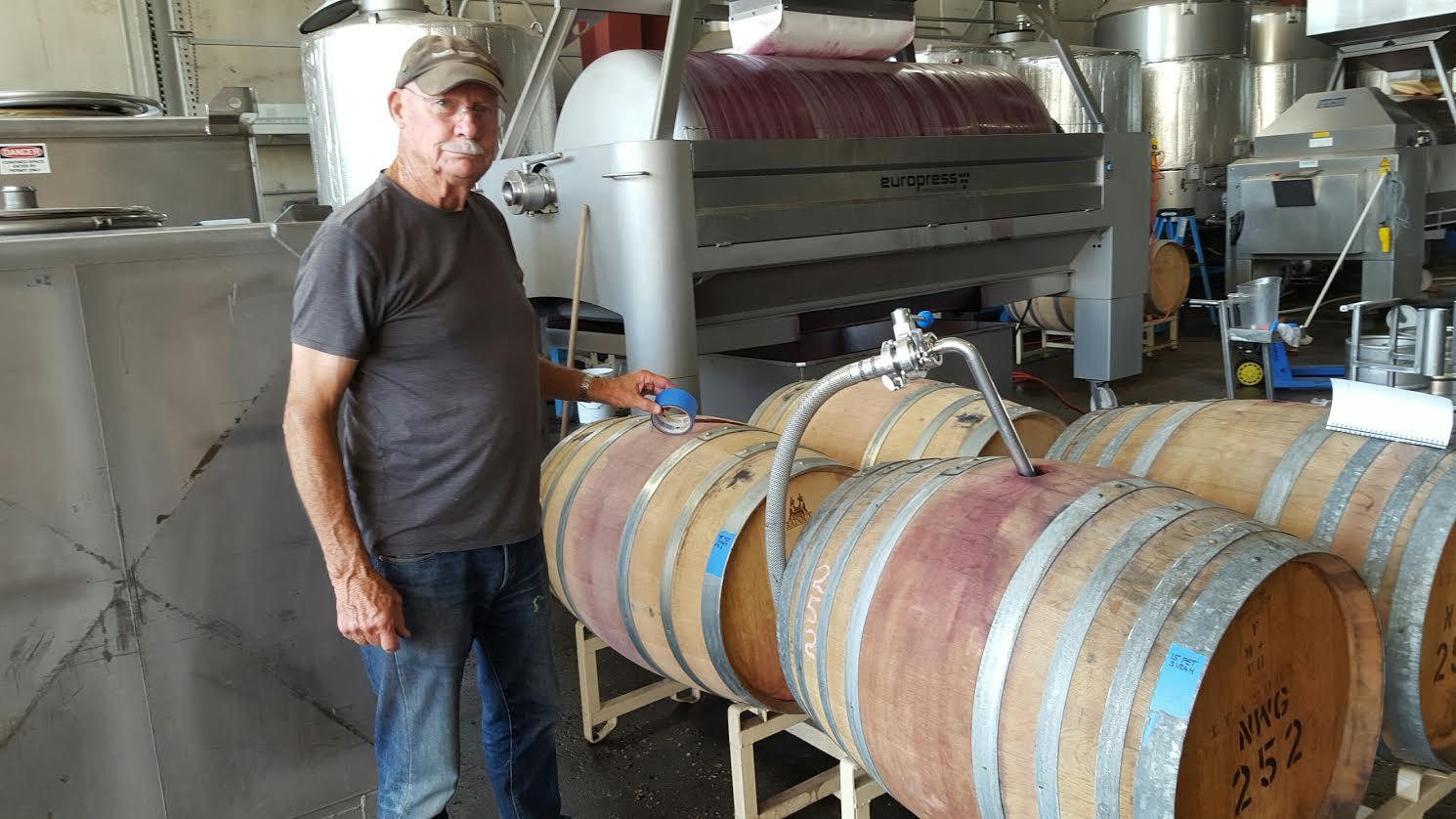 Phantom RIvers Winemaker Pumping | Harvest15 | VAULT29