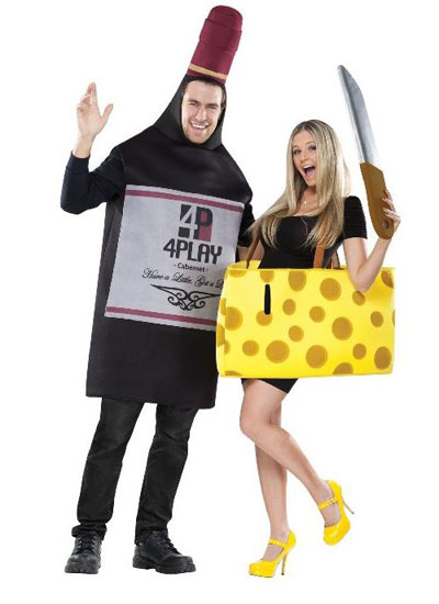 Wine & Cheese Halloween Costume | VAULT29