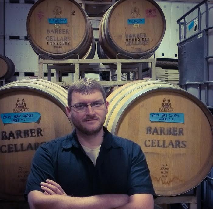 Mike Barber, owner Barber Cellars | VAULT29