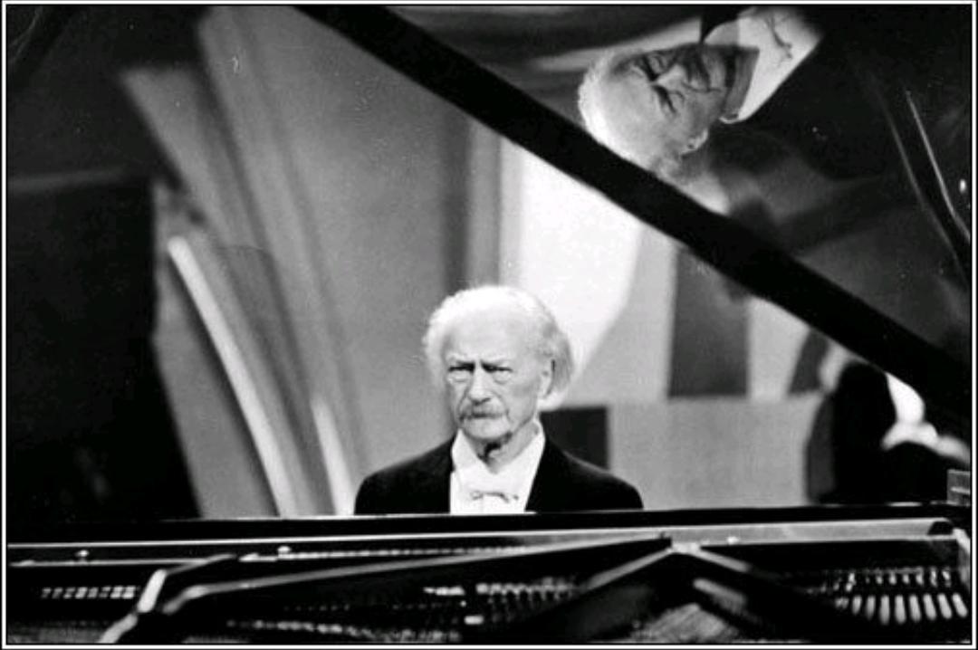 Paderewski at the piano