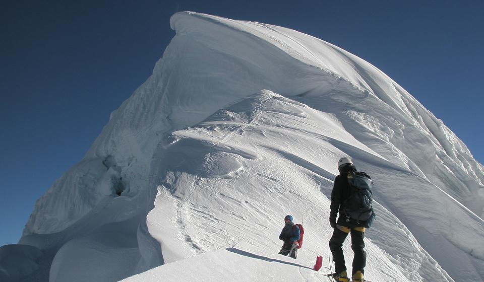 Mountaineering, Cordillera Blanca, Peru