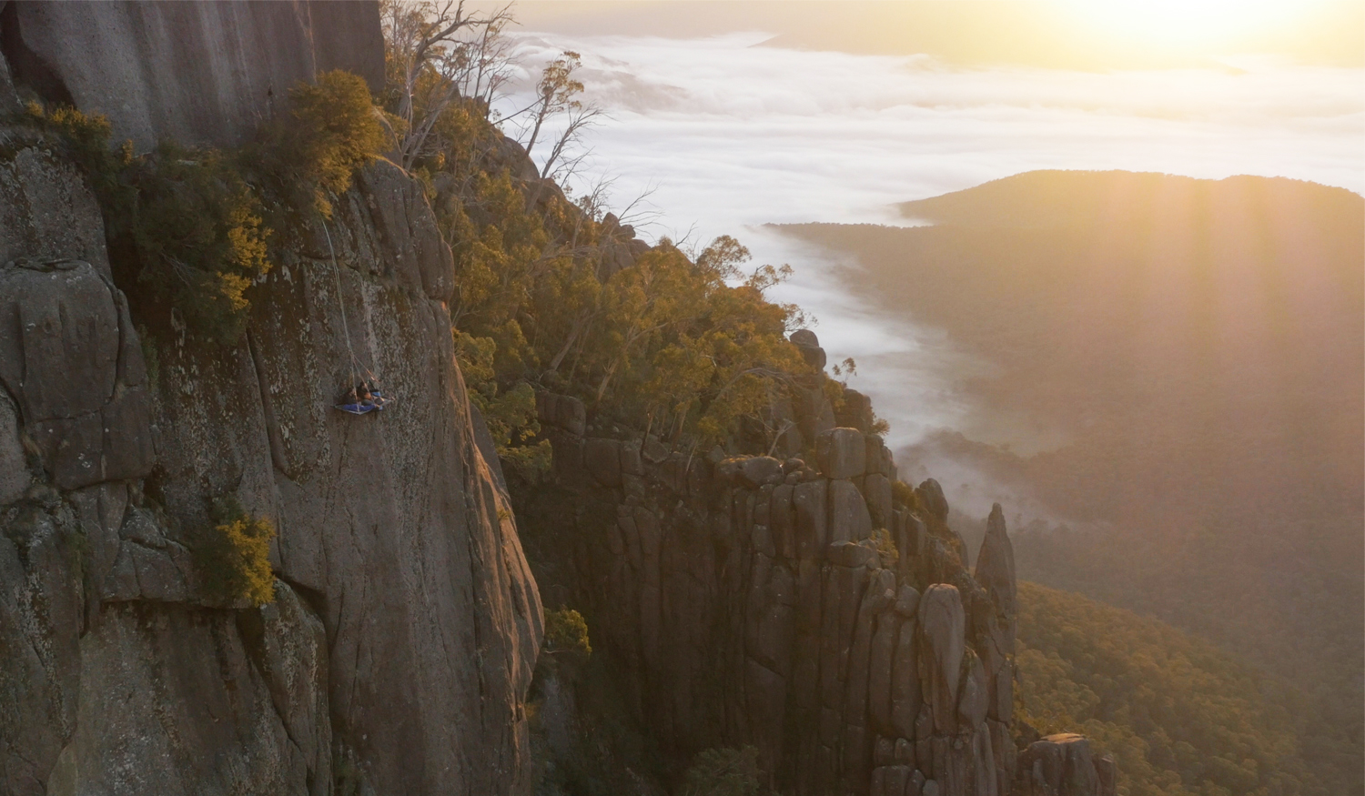 Beyond the Edge Portaledge Valley and Sunrise