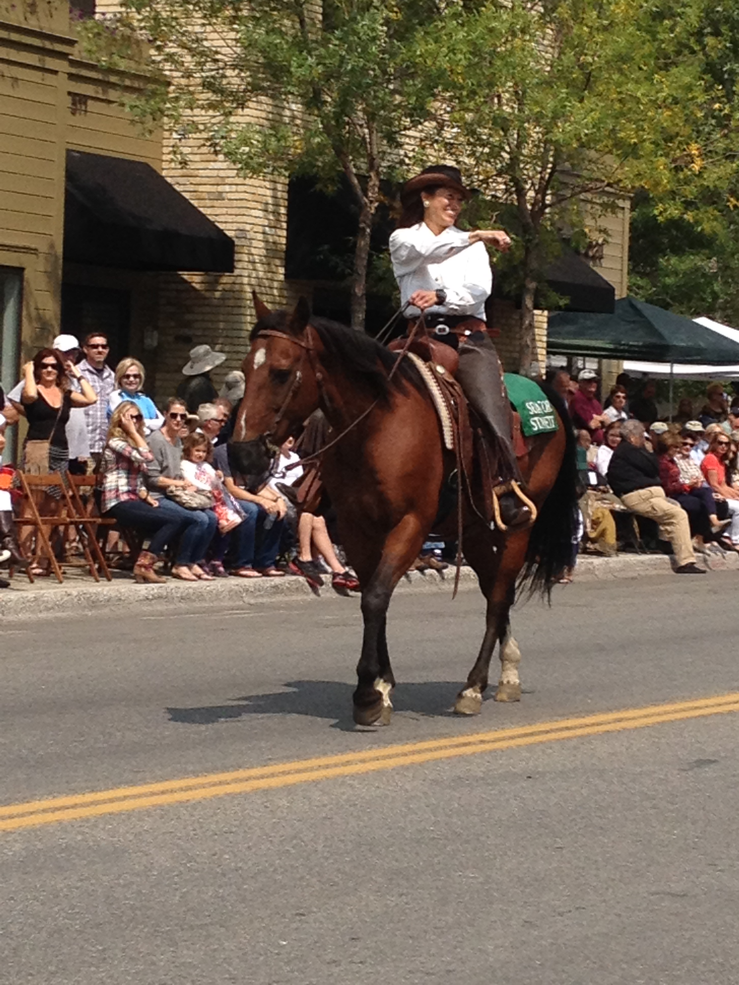 Wagon Day parade