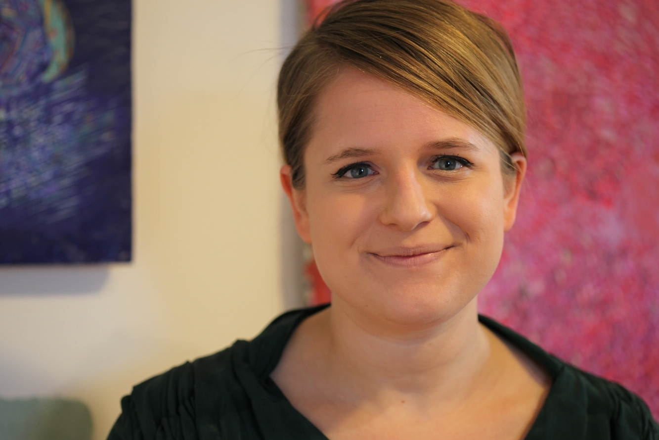 Artist Karin Waskiewicz (  photo courtesyRonnie Glenn Photography)