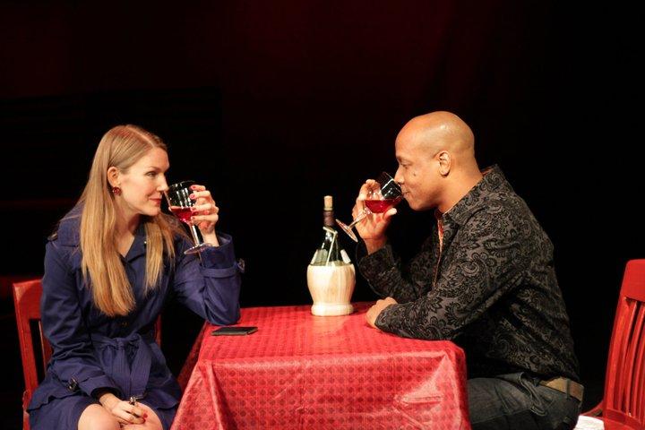 "Leanne Barrinaeu  & David Gandy ""Friction the Play"""