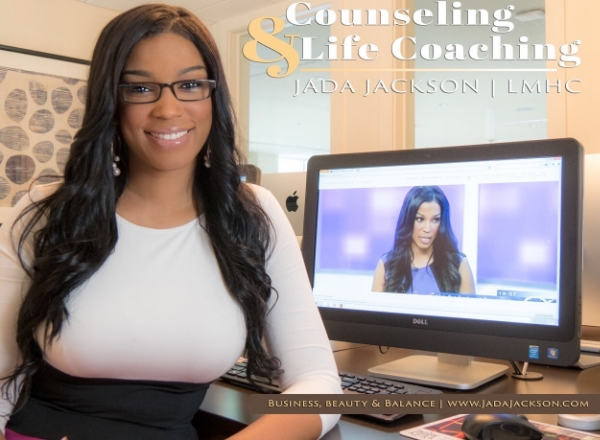 Jada Jackson Licensed Mental Health Counselor and Life Coach
