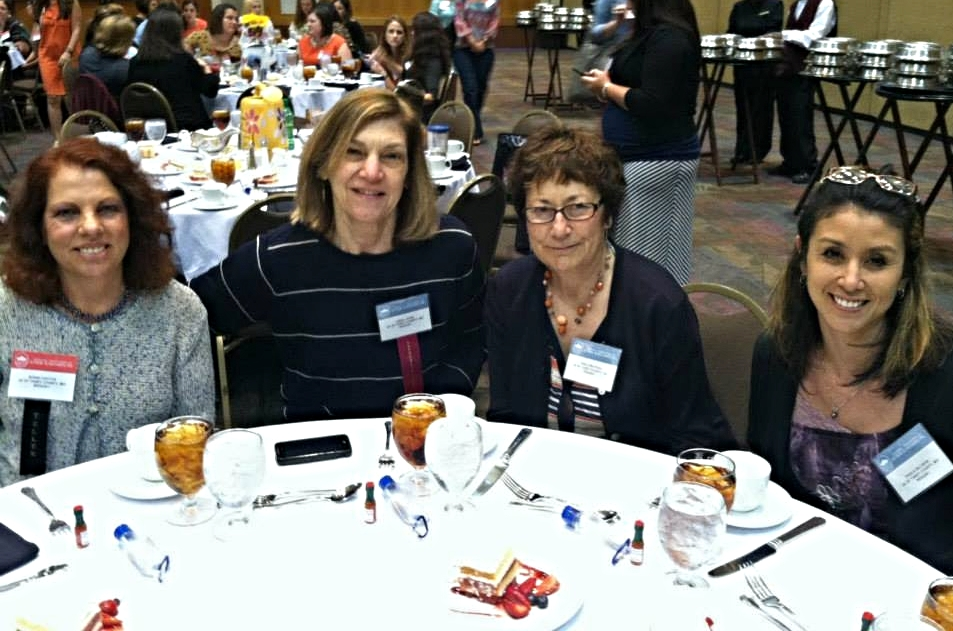 JATC members Ronni Haston, Linda Lewis, Nina Grayson and Paula Gillispie attended the annual meeting of the National Association of Junior Auxiliaries.