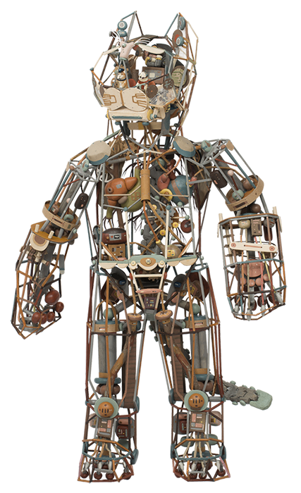 Robot Cat, 2012 © Sean Chao