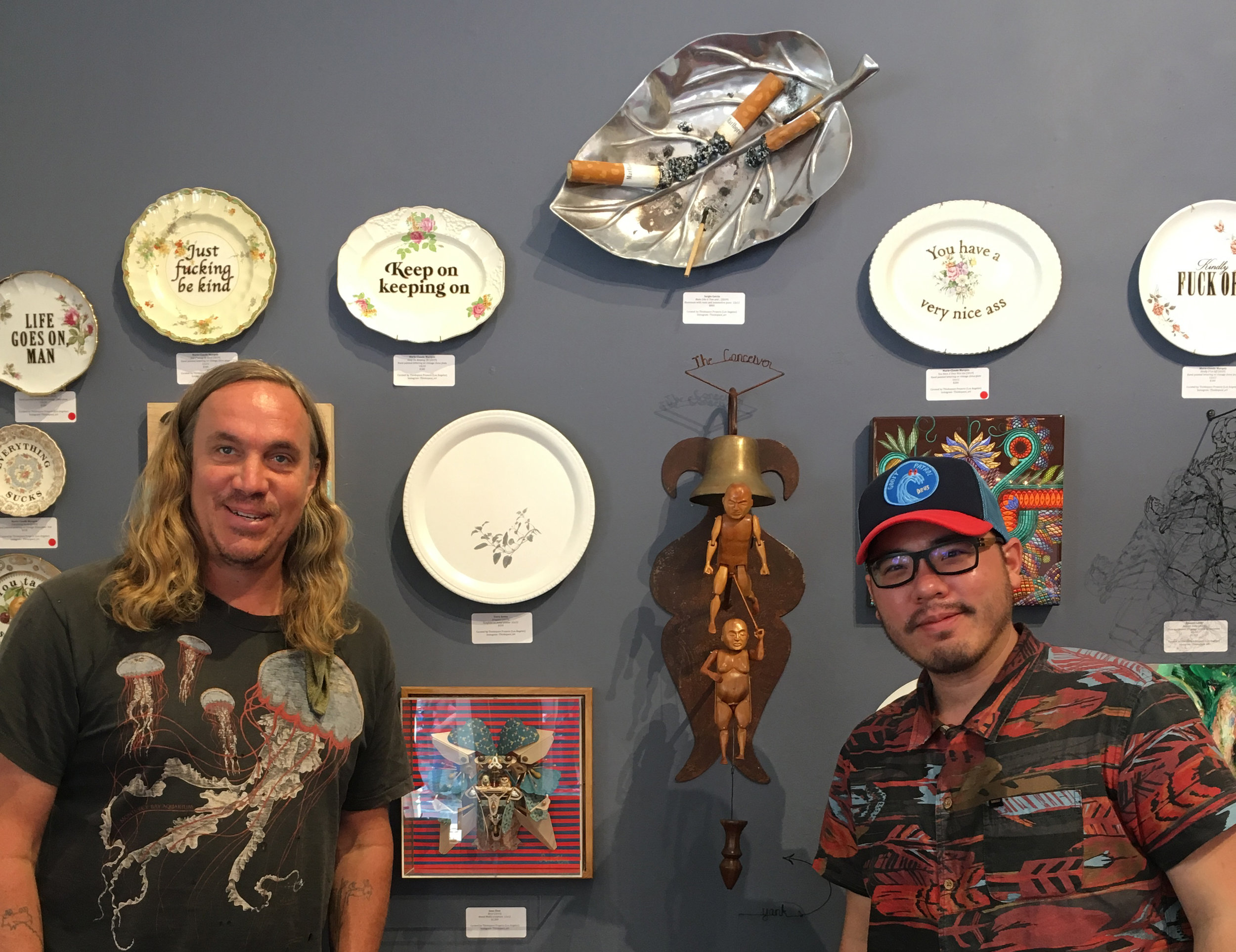 Exhibit alongside with my talented artist friend  Spenser Little  Check out his intricate work.