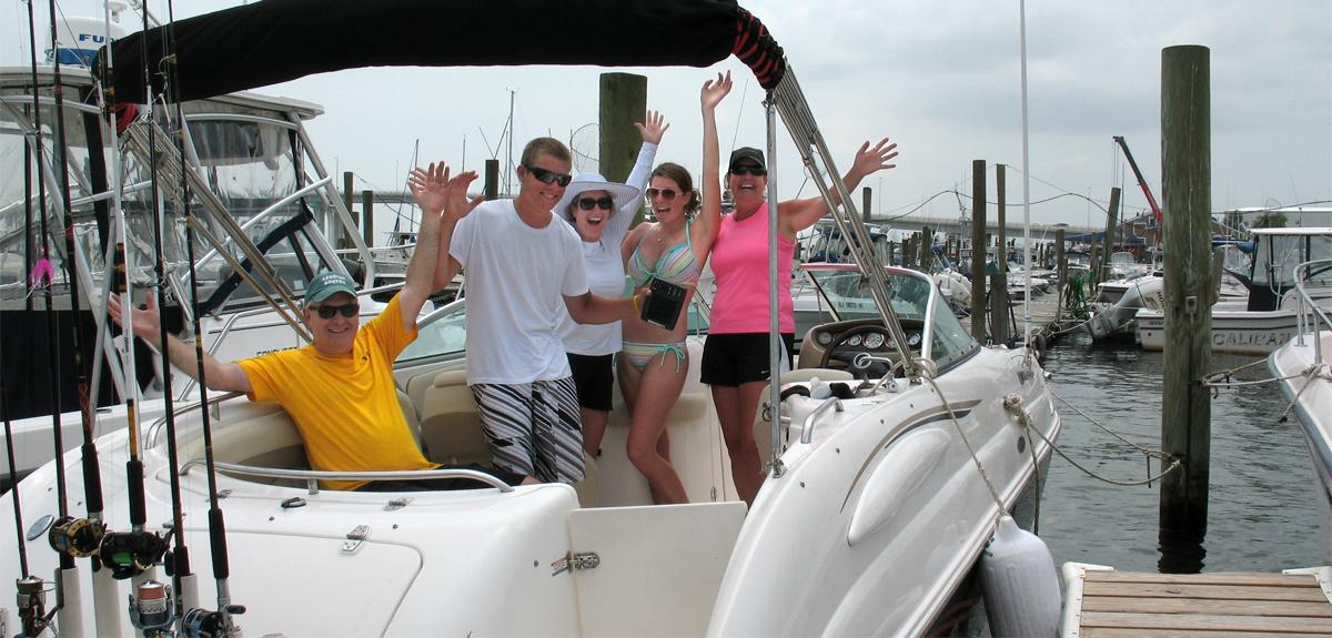 Family fun at Somers Point Marina