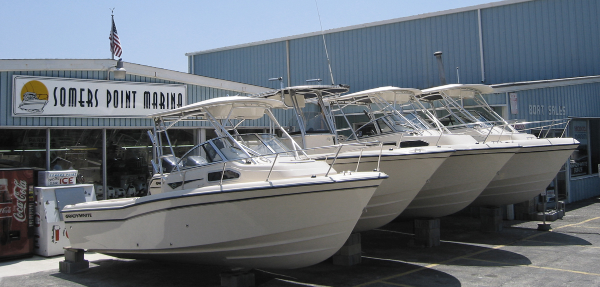 Somers Point Marina boat sales