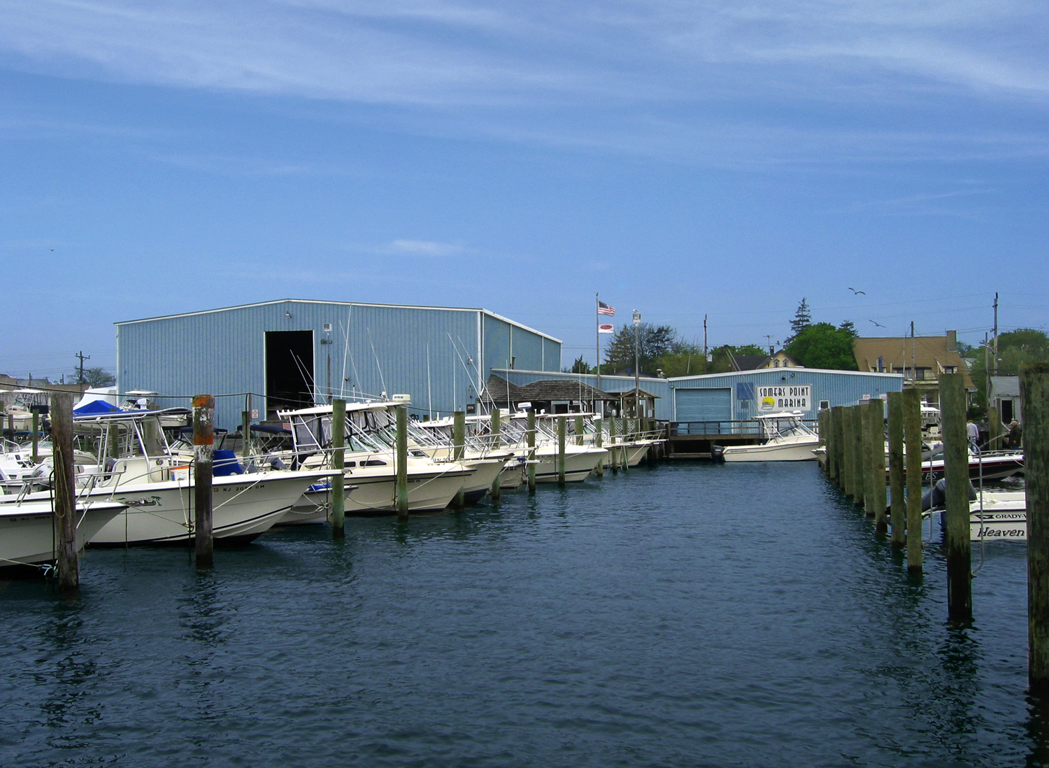 Somers Point Marina water access