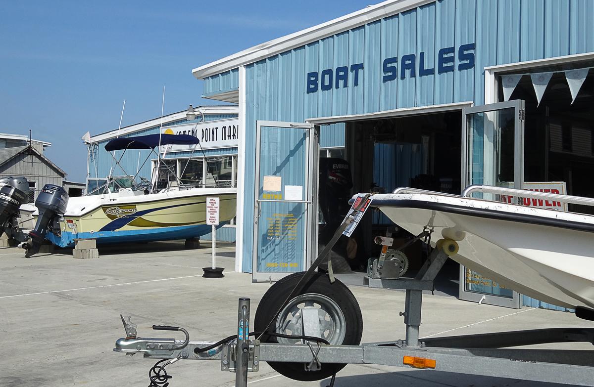 Brokerage Boat Sales at Somers Point Marina