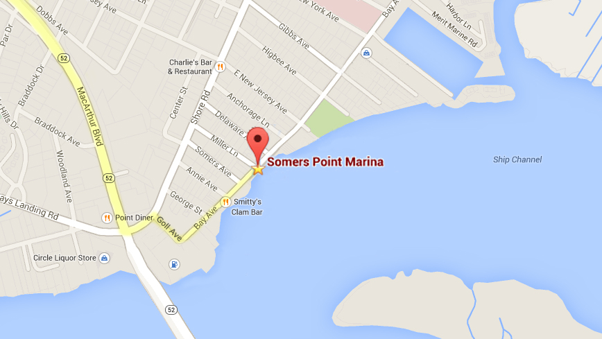 Somers Point Marina driving directions