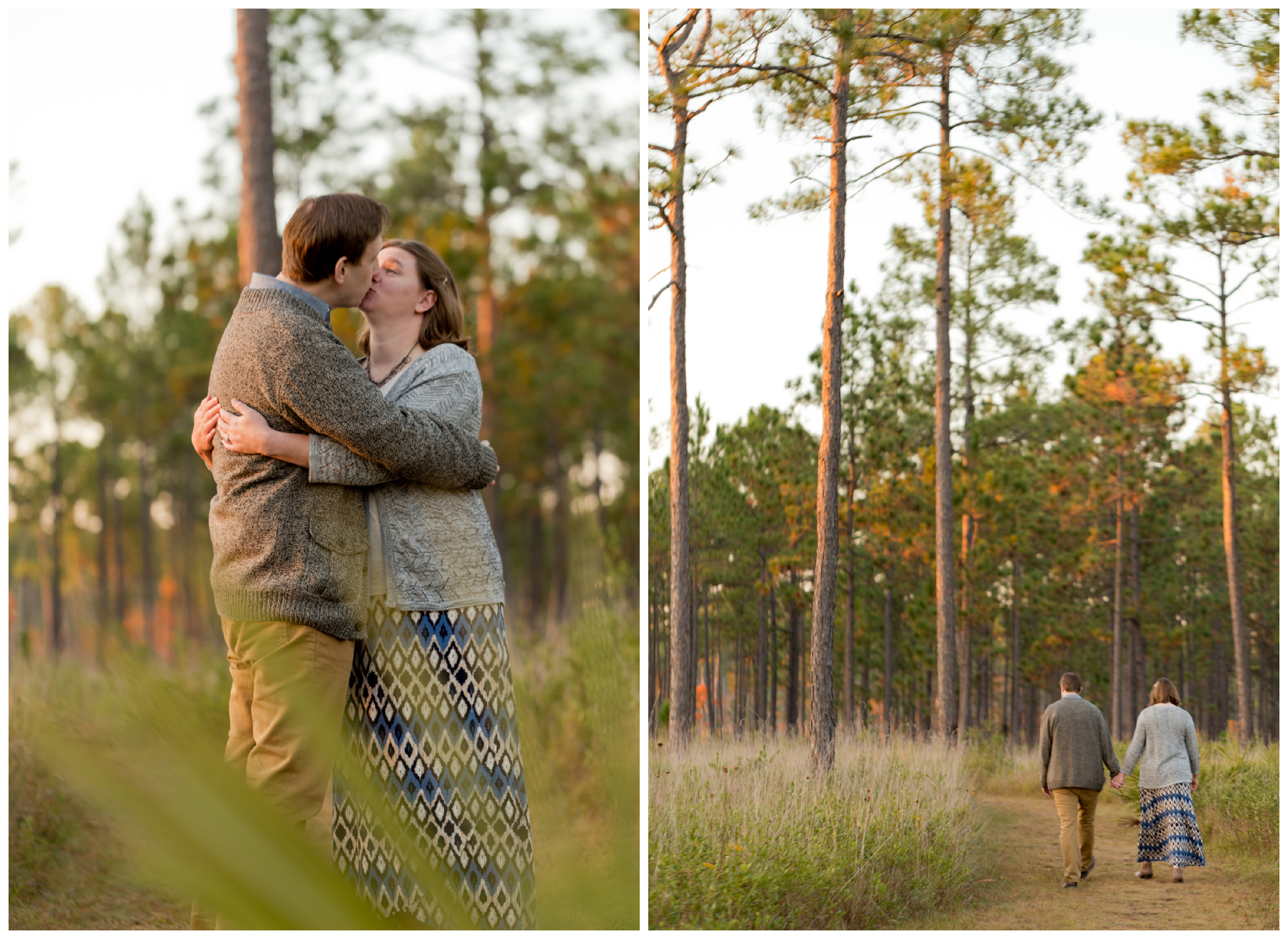 engagement photos in nature (Uninvented Colors Photography)