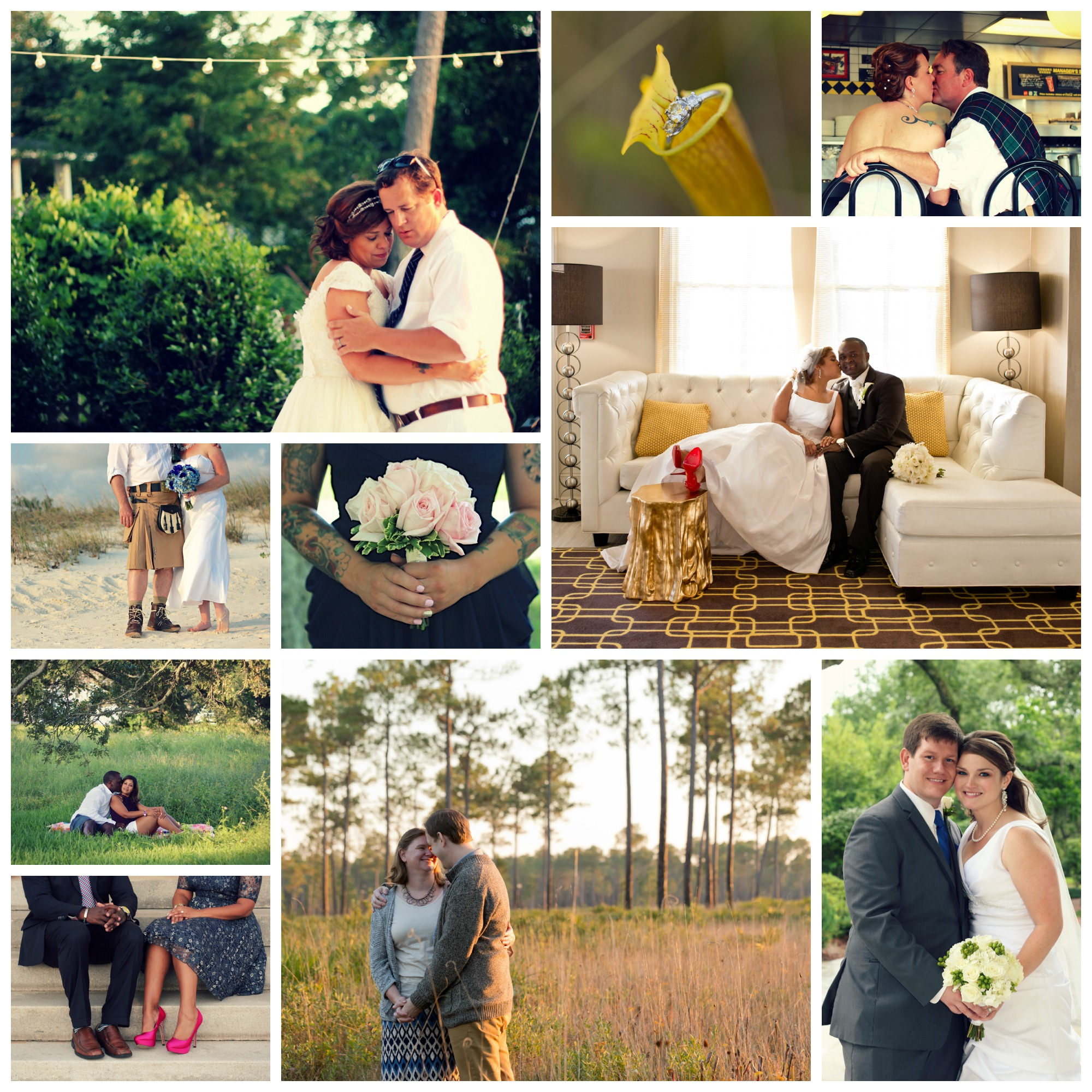 Uninvented Colors Photography 2014 weddings (Gulf Coast wedding photographer)