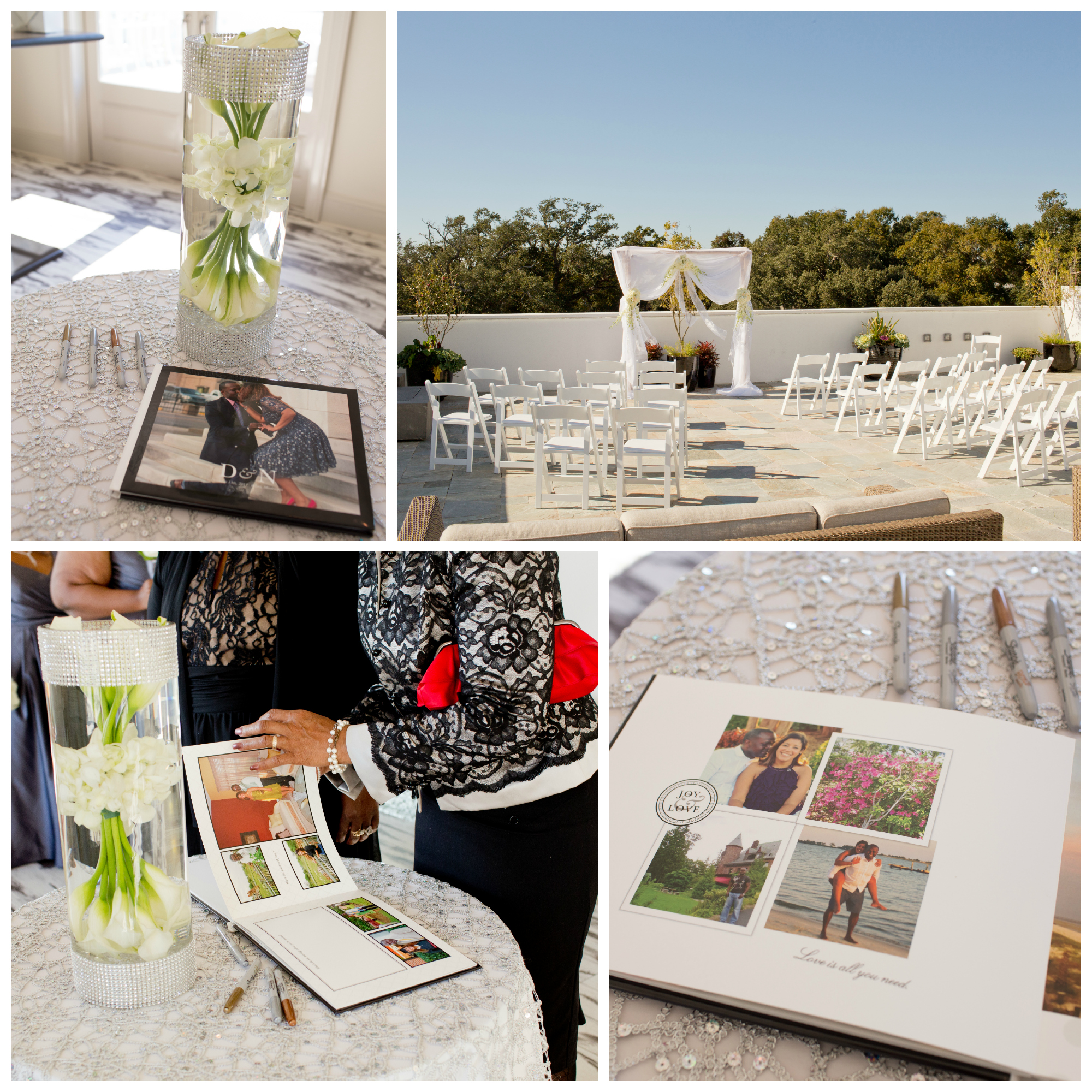 White House Hotel Biloxi terrace wedding (Uninvented Colors Photography)