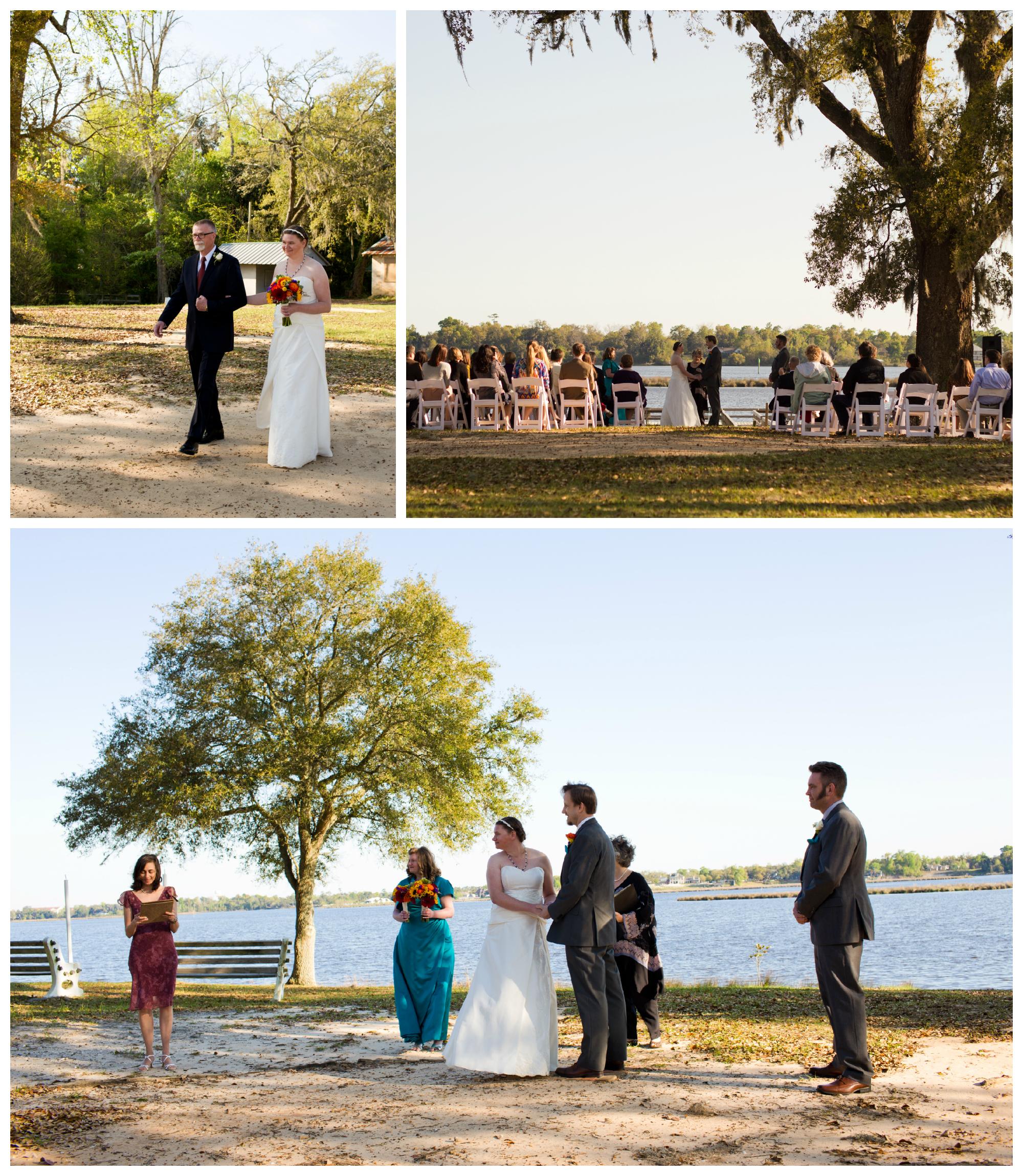 Camp Wilkes Wedding Ceremony