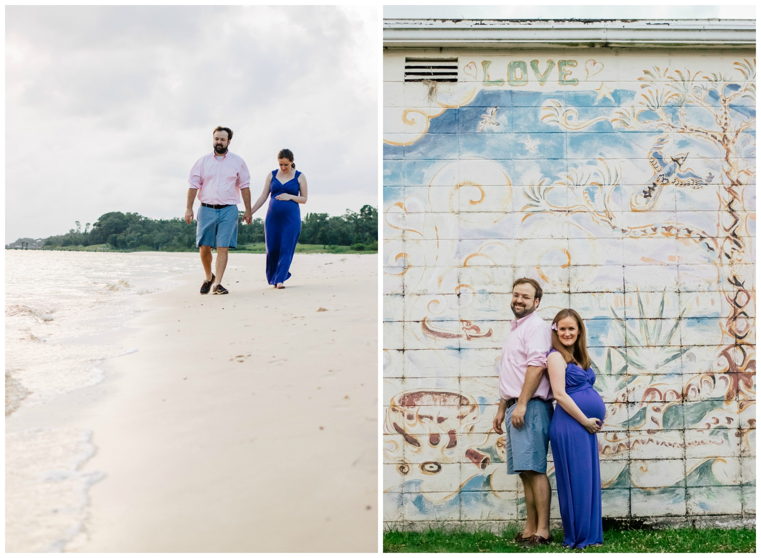 maternity photos in Ocean Springs, Mississippi