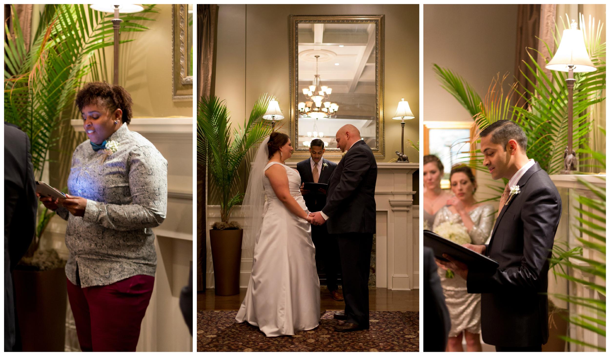 wedding ceremony at Biloxi Visitors Center