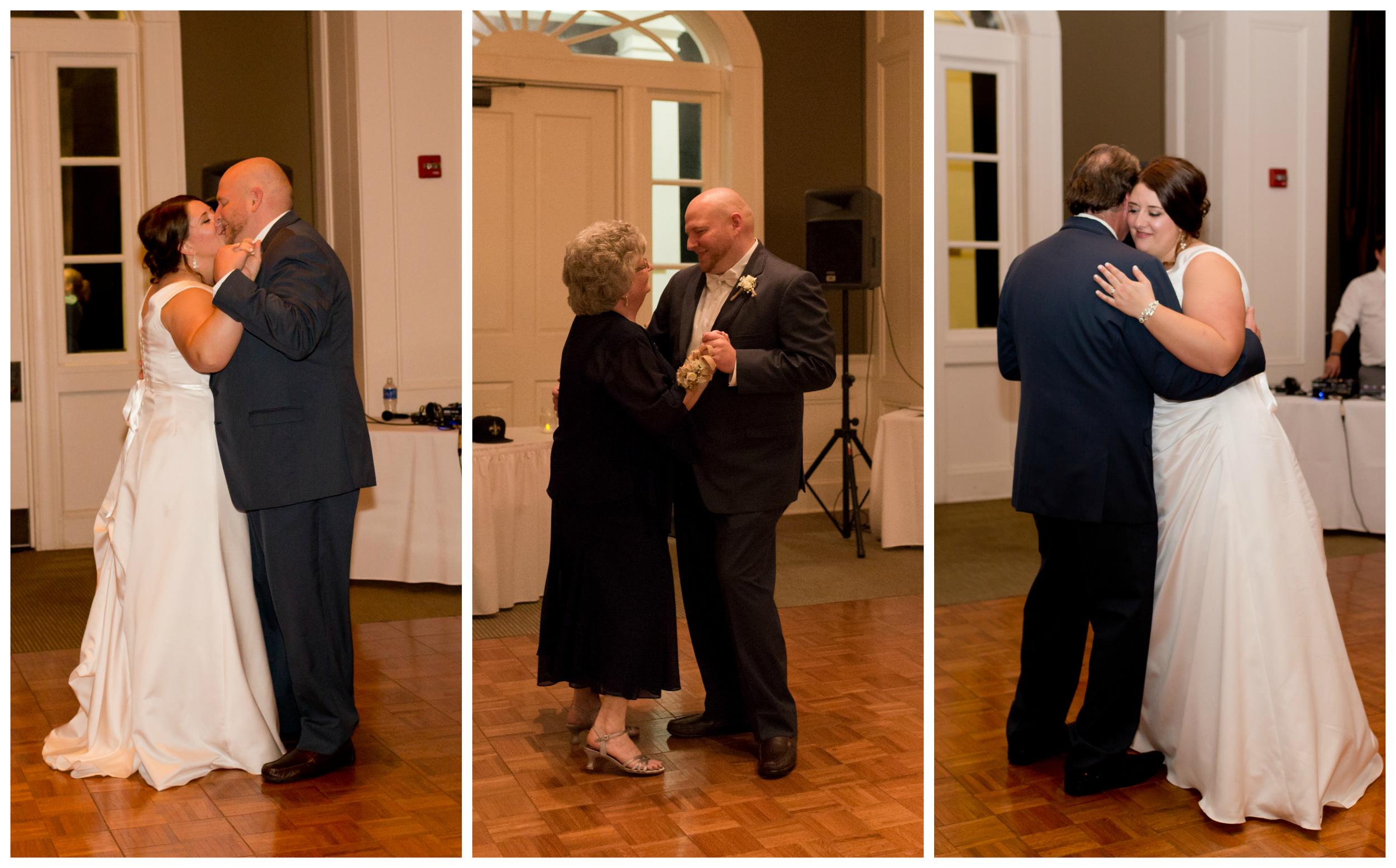first dances at wedding