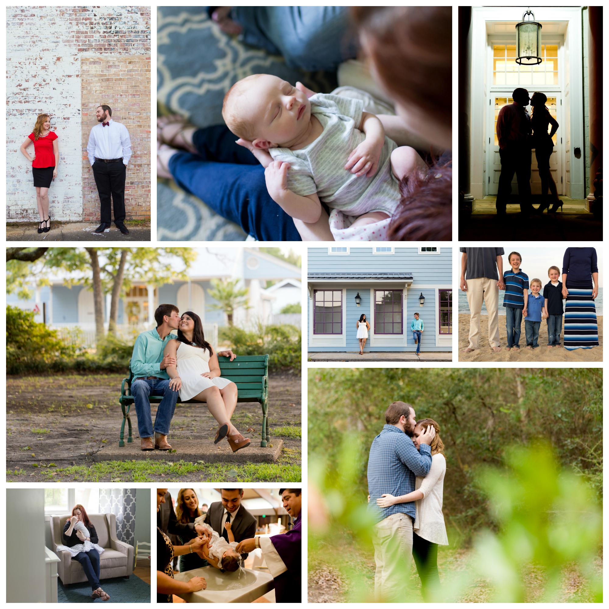 Uninvented Colors Photography 2015 portrait sessions (engagement, newborn, family, baptism photos)