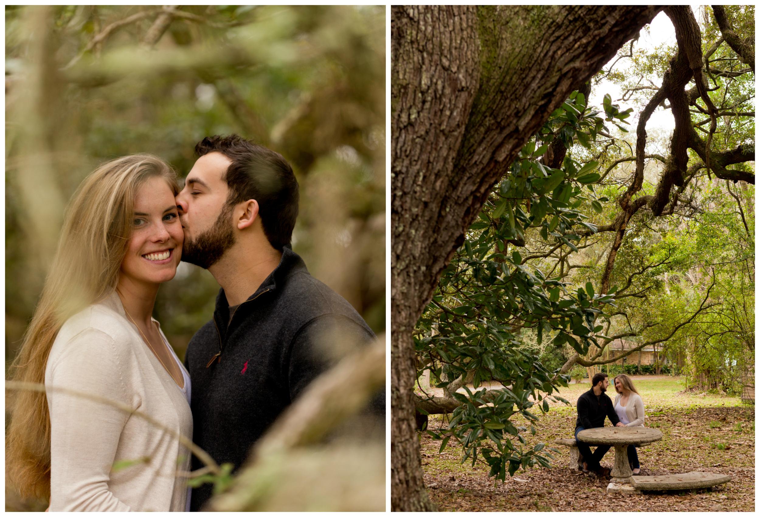 outdoorsy engagment portraits