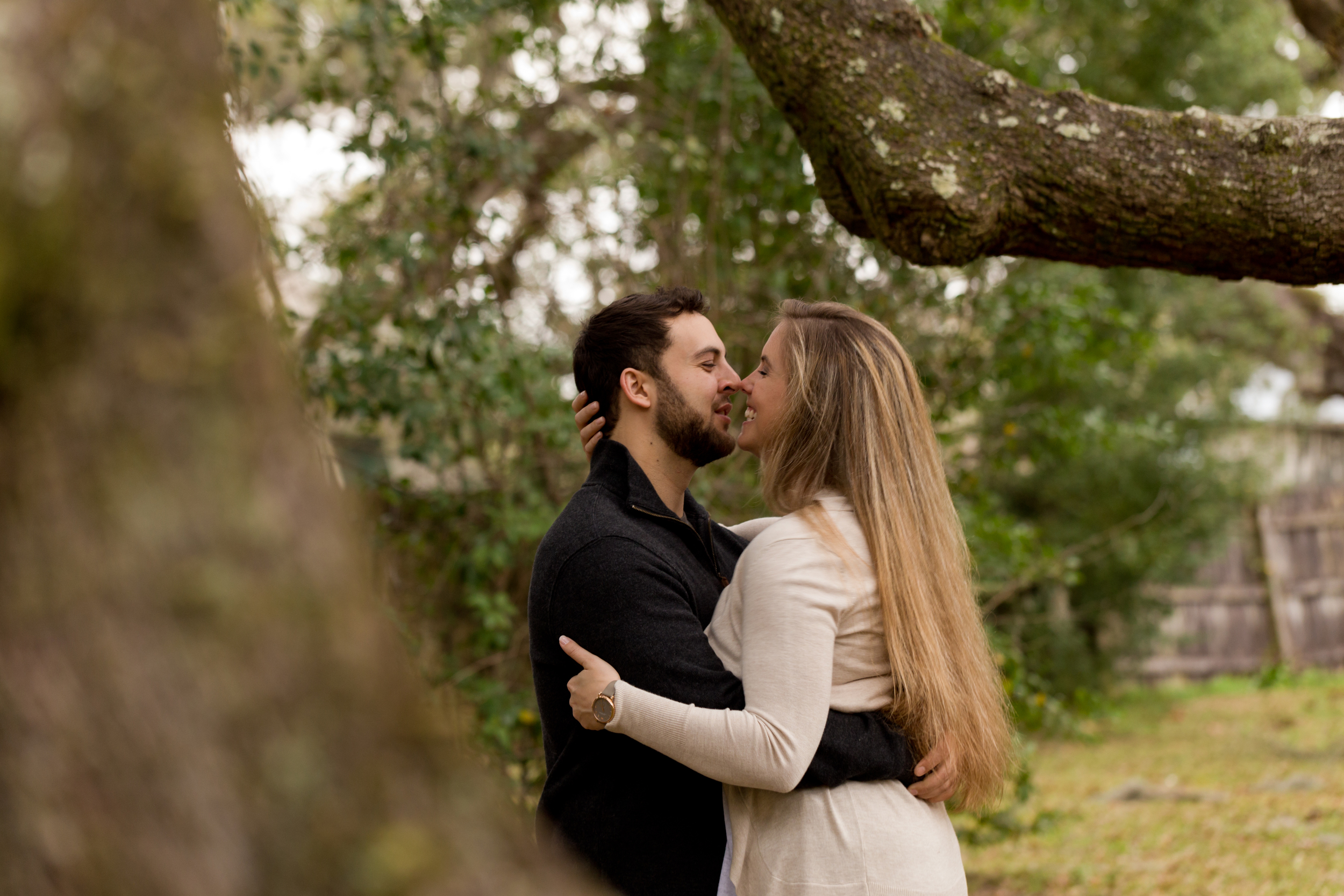 engagement session in Ocean Springs (Uninvented Colors Photography)