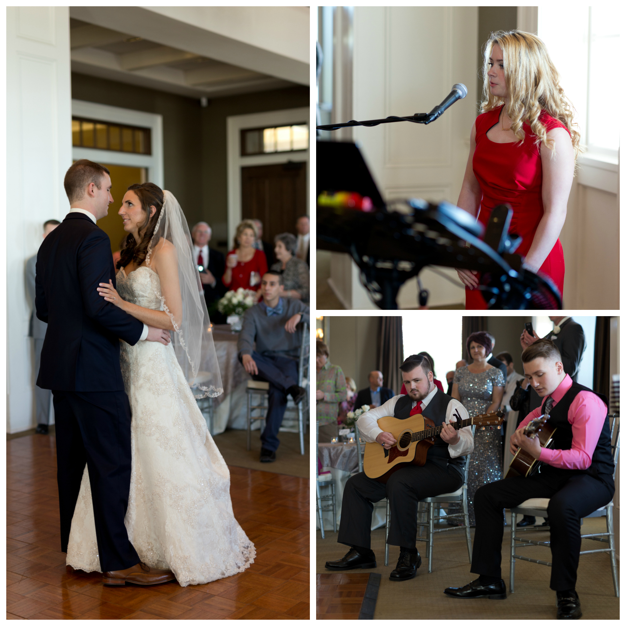 wedding first dance with live music