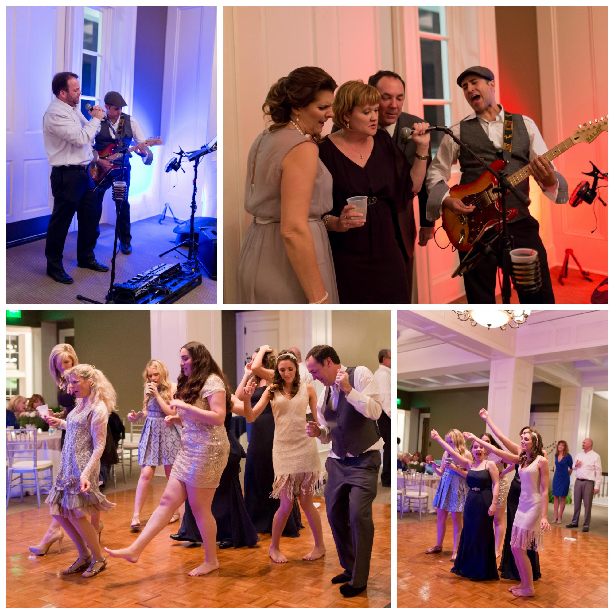 karaoke at wedding reception