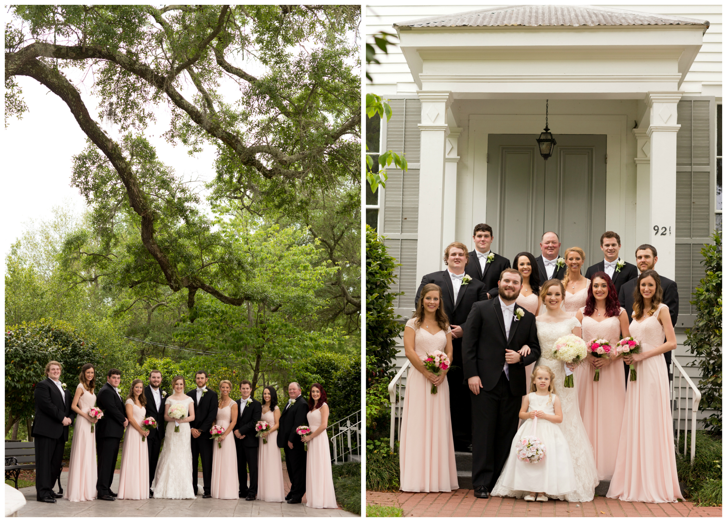 wedding party photos (Uninvented Colors Photography)