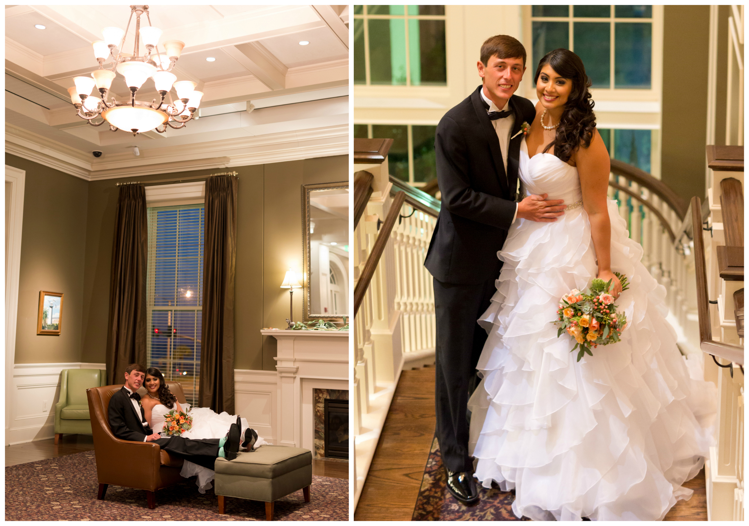 Biloxi wedding photographer (Uninvented Colors portraits at Biloxi Visitors Center)