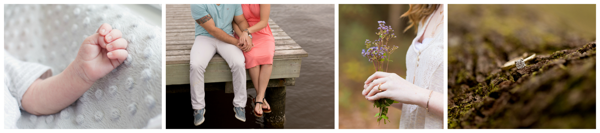 portrait details shots (engagement and newborn lifestyle by Ocean Springs portrait photographer Uninvented Colors Photography)